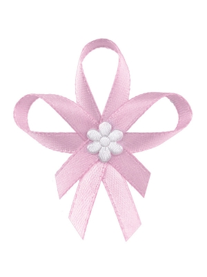 Līgavaiņa piespraude, gaiši rozā, 6 cm