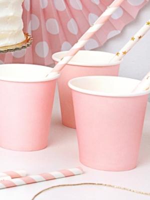 6 gab, Glāzes gaiši rozā, 200 ml