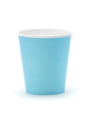 6 gab, Glāzes gaisi zilas, 200 ml