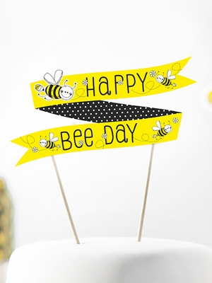 Tortes dekors Bitīte, 19 cm