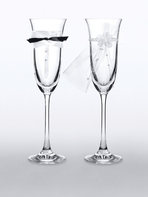 2 gab, Šampānieša glāzes, 160 ml
