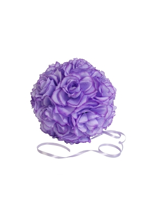Ziedu bumba, gaiši violeta, 21 cm