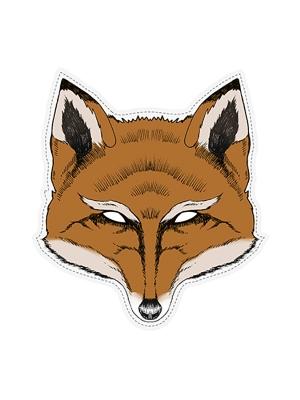 Mask Fox, 26 x 28 cm