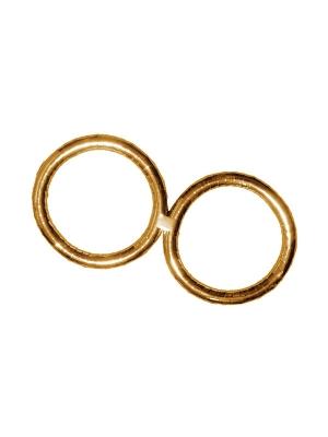 2 gab, Kāzu gredzeni, zelta, 50 cm