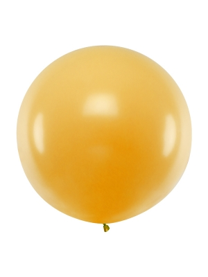 1 metra balons, zelta, metālisks