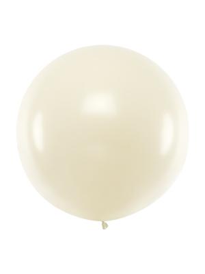 1 metra balons, pērļu krāsa, metālisks