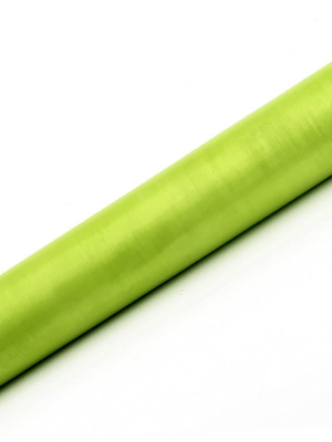 Organza, gaiši zaļa, 0.36 x 9 m