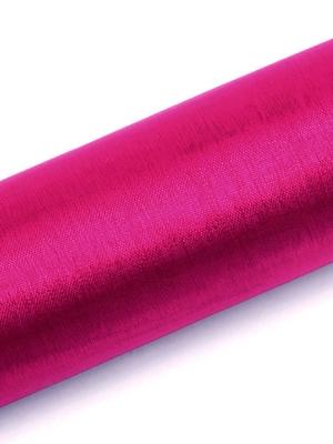 Organza, tumši rozā, 0.16 x 9 m