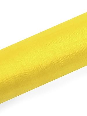 Organza, dzeltena, 0.16 x 9 m