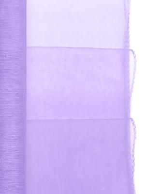 Organza apvīlēta, lillā, 0.38 x 9 m