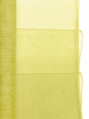 Organza apvīlēta, zaļa, 0.38 x 9 m