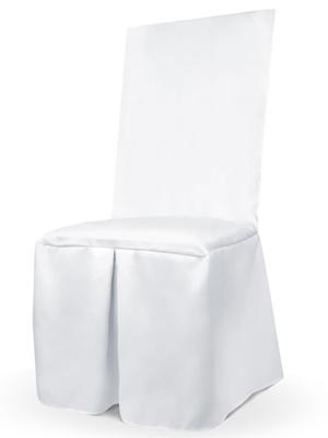 Chair cover, white