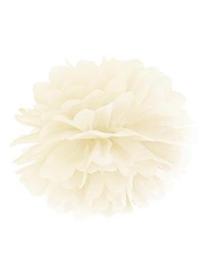 Zīdpapīra bumba, krēmkrāsā, 25 cm