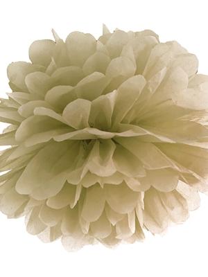 Zīdpapīra bumba, zelta, 35 cm