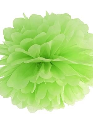 Zīdpapīra bumba, zaļš ābols, 35 cm