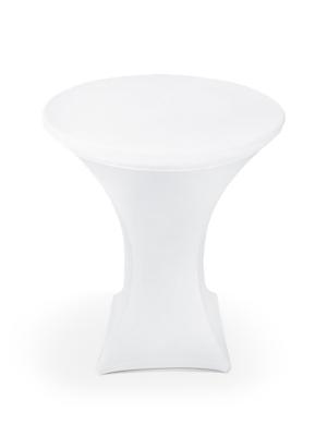 Bāra galda pārvalks, balts