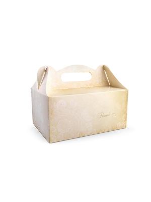 10 gab, Kāzu tortes kastītes, 19 x 14 x 9 cm