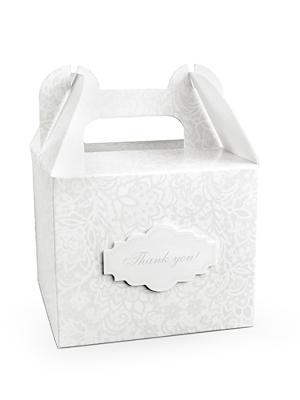 10 gab, Kāzu tortes kastītes, 11.5 x 11.5 x 9.5 cm