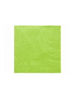 20 gab, Salvetes, gaiši zaļas, 33x33  cm