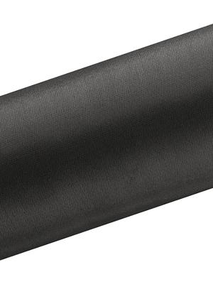 Satīns, melns, 0.16 x 9 m