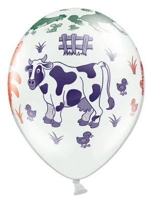 Balons Ferma, balts, 30 cm