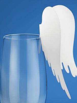 10 gab, Glāzes dekors Spārni, 12.3 x 10.7 cm