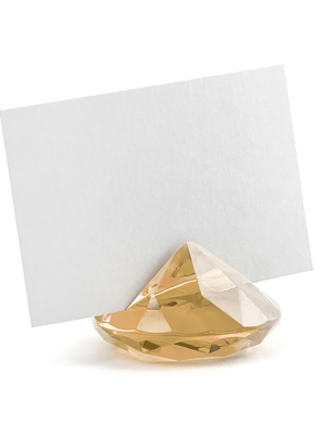 10 gab, Galda karšu turētājs Dimants, zelta, 40 mm