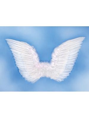 Eņģeļa spārni, balti, 75 x 45 cm