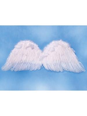 Eņģeļa spārni, balti, 75 x 30 cm
