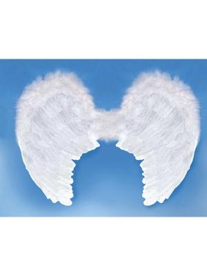 Eņģeļa spārni, balti, 80 x 60 cm