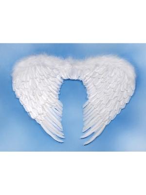 Eņģeļa spārni, balti, 76 x 55 cm