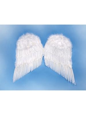 Eņģeļa spārni, balti, 55 x 45 cm