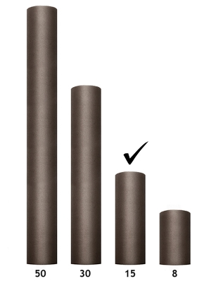 Tills, brūns, 0.15 x 9 m