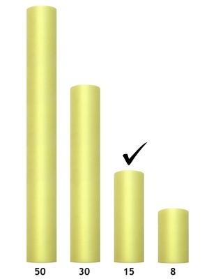 Tills, gaiši dzeltens, 0.15 x 9 m