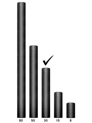 Tills, melns, 0.3 x 9 m