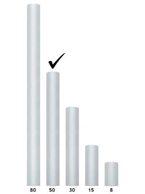 Tills, pelēks, 0.5 x 9 m