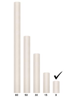 Tills, krēmkrāsā, 0.08 x 20 m