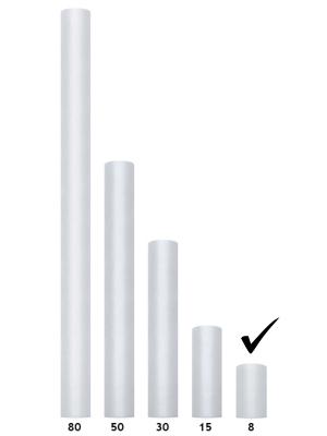 Тюль, цвет серый, 0.08 х 20 м