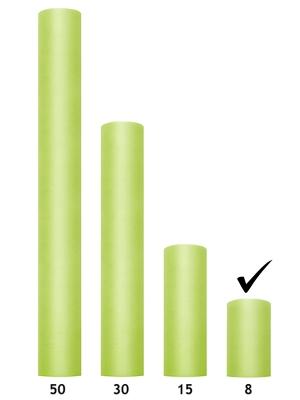 Tills, gaiši zaļš, 0.08 x 20 m