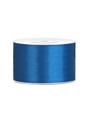 Satīna lente, zila, 3 mm x 50 m
