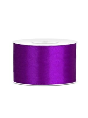 Satīna lente, violeta, 38 mm x 25 m