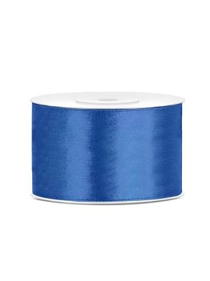 Satīna lente, spilgti zila, 38 mm x 25 m