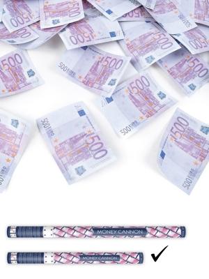 Plaukšķene, 500 eiro banknotes, 60 cm