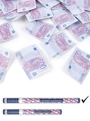 Plaukšķene, 500 eiro banknotes, 80 cm