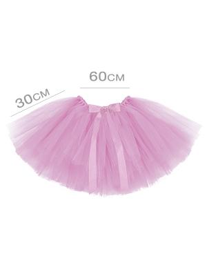 Туту юбка, светло-розовая, 60 x 30 см