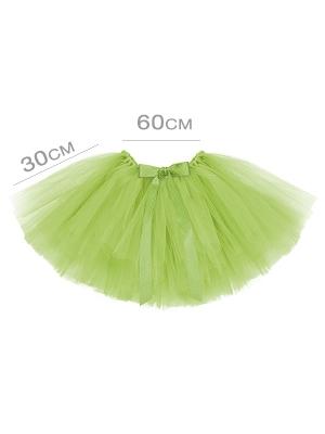 Туту юбка, светло зелёная, 60 x 30 см