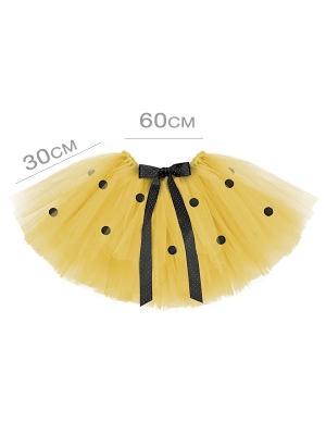 Tutu skirt Bee, yellow, 60 x 30cm