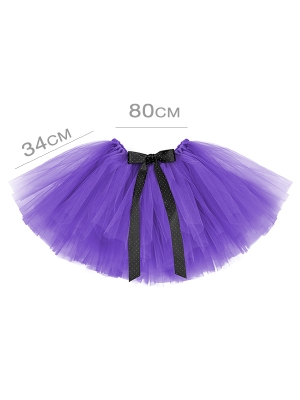 Tutu apakšsvārki, violeti, 80 x 34 cm
