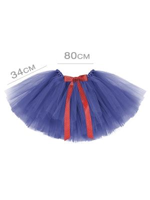 Туту юбка, тёмно синяя, 80 x 34 см