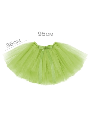 Tutu apakšsvārki, gaiši zaļi, 95 х 36 cm